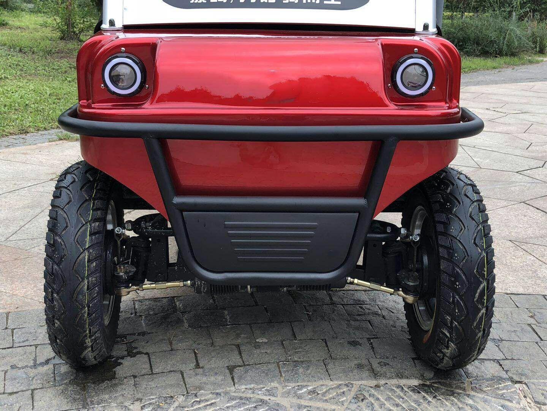 BEEBO รถกอล์ฟไฟฟ้า 4 ล้อ 500 วัตต์ นั่งได้ 4 คน 35-40 กม./ชม. 40 กม./ชาร์จ