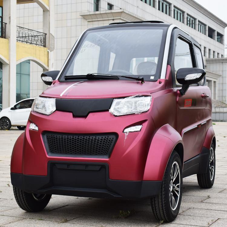 BETA รถยนต์ไฟฟ้า 4 ล้อ 3 ที่นั่ง 1,500 วัตต์ ความเร็วสูงสุด 40 กม./ชม. 80-100 กม./ชาร์จ