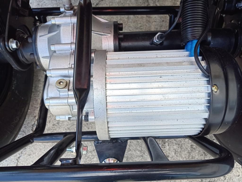 CESA เอทีวีไฟฟ้าขับเคลื่อนสี่ล้อ 4,200 วัตต์ ความเร็ว 60 กม./ชม. ระยะ 40 กม./ชาร์จ