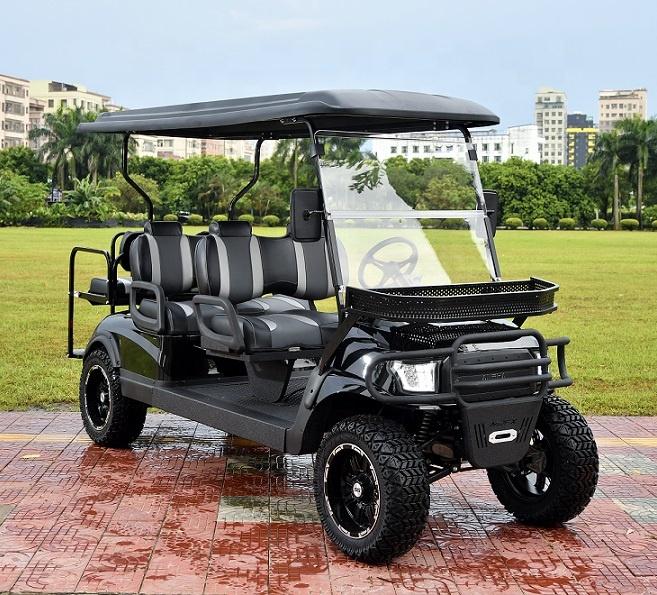 ChangNoi-X รถกอล์ฟไฟฟ้าวิบาก 6 ที่นั่ง 3,000 วัตต์ 40 กม./ชม. 60-80 กม./ชาร์จ