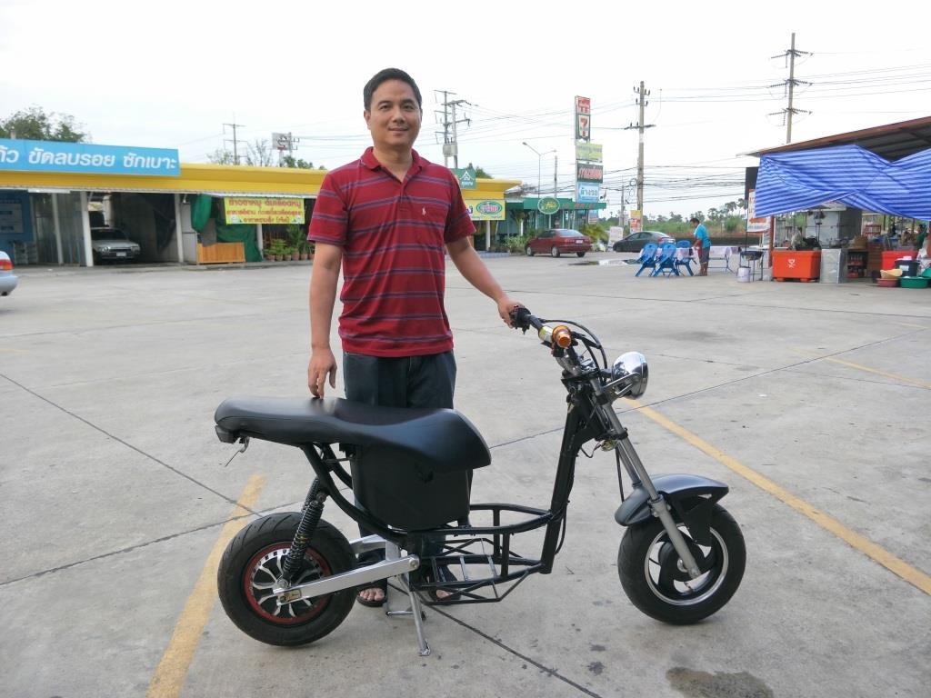 mini THAI มอเตอร์ไซค์ไฟฟ้า ทำเอง รับจ้างทำตามแบบ 40-80 กม./ชม. 40-100 กม./ชาร์จ