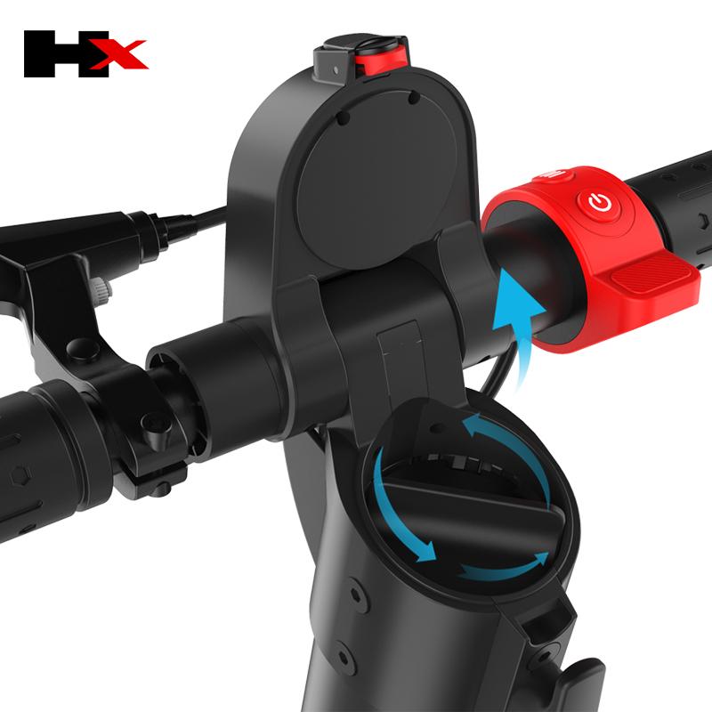 HX-X7 สกู๊ตเตอร์ไฟฟ้า ยืน พับได้ 2 ล้อ 500 วัตต์ 20 กม./ชม. 20 กม./ชาร์จ แบตเตอร์รี่ LG ลิเที่ยมไอออน