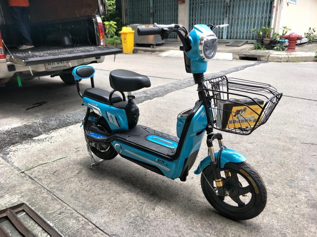 JIBBY จักรยานไฟฟ้าสกู๊ตเตอร์ 350 วัตต์ 30 กม./ชม. 40 กม./ชาร์จ