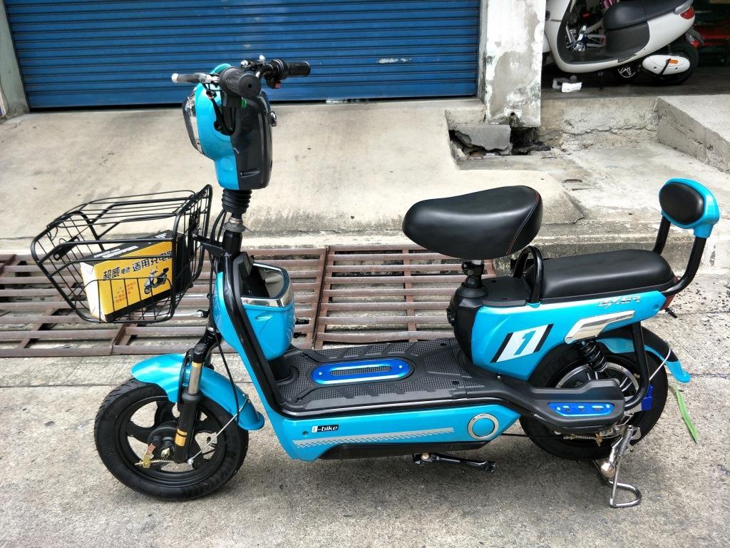 JIBBY จักรยานไฟฟ้าสกู๊ตเตอร์ สีเขียว 350 วัตต์ 30 กม./ชม. 40 กม./ชาร์จ