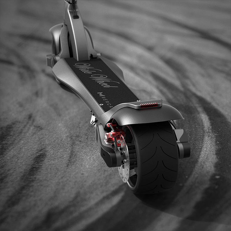 JIGGO-i ล้อกว้าง สกู๊ตเตอร์ไฟฟ้า ยืน พับได้ 2 ล้อ 500 วัตต์ เร็ว 25 กม./ชม. 30 กม./ชาร์จ แบตเตอร์รี่ลิเที่ยมไอออน