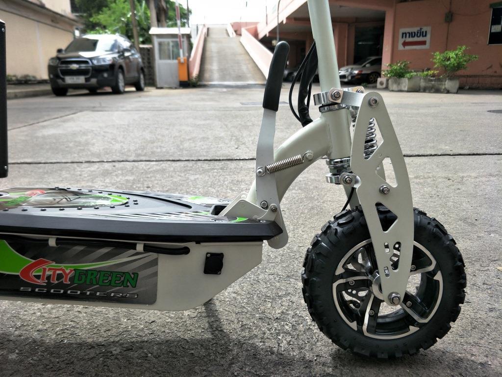 JIGGO-X สกู๊ตเตอร์ไฟฟ้า 2 ล้อ นั่ง-ยืน 1,600 วัตต์ 40 กม./ชม