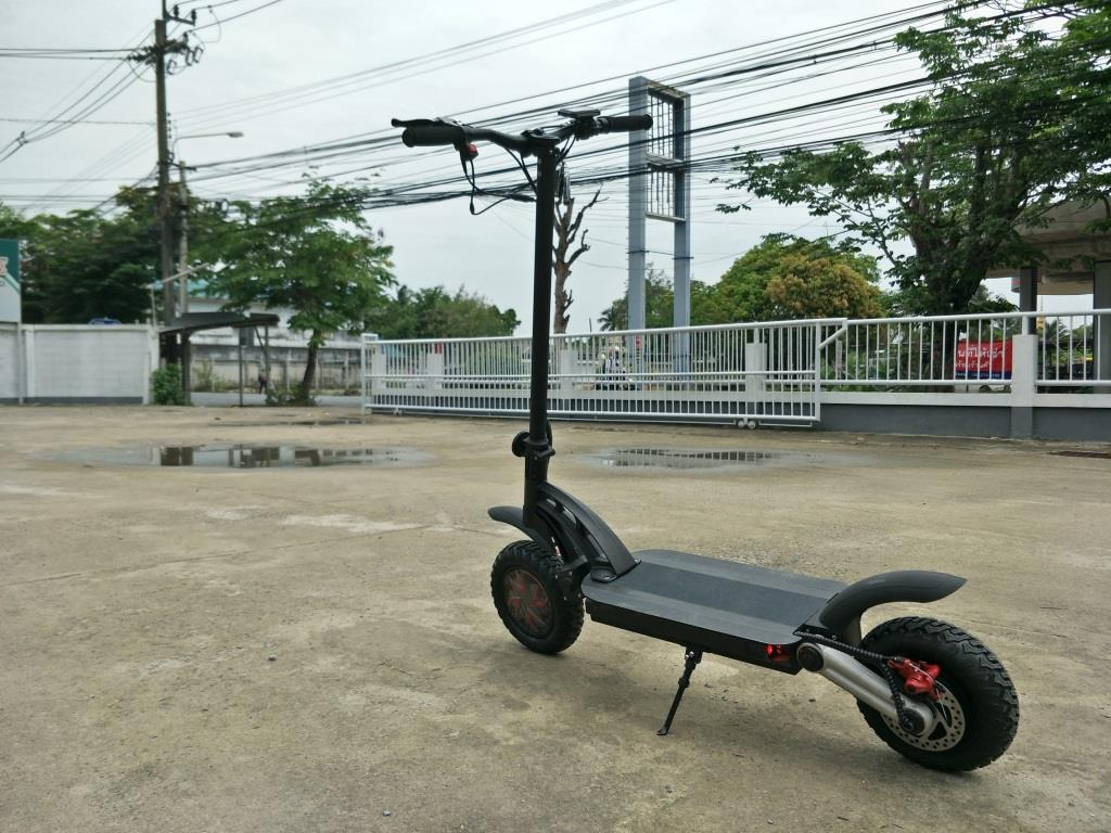 JIGGO Z สกู๊ตเตอร์ไฟฟ้า-ยืน ล้อมอเตอร์ทั้ง 2 ล้อ พับได้ เร็ว-แรง 2,000 วัตต์ 55 กม./ชม 70 กม./ชาร์จ