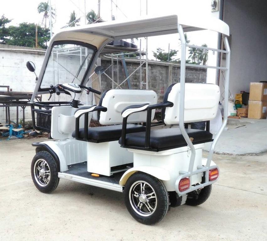 POODANG-2 สกู๊ตเตอร์ รถกอล์ฟน้อย 4 ล้อ 4 ที่นั่ง 650 วัตต์ 30 กม./ชม. 40 กม./ชาร์จ