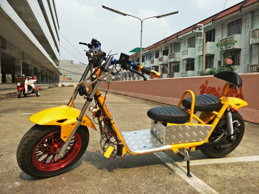 SAIFAH มอเตอร์ไซค์ไฟฟ้า 2,000 วัตต์ 70 กม./ชม. 120 กม./ชาร์จ รับจ้างทำแบบลูกค้า ทุกชิ้นส่วนผลิตในไทย