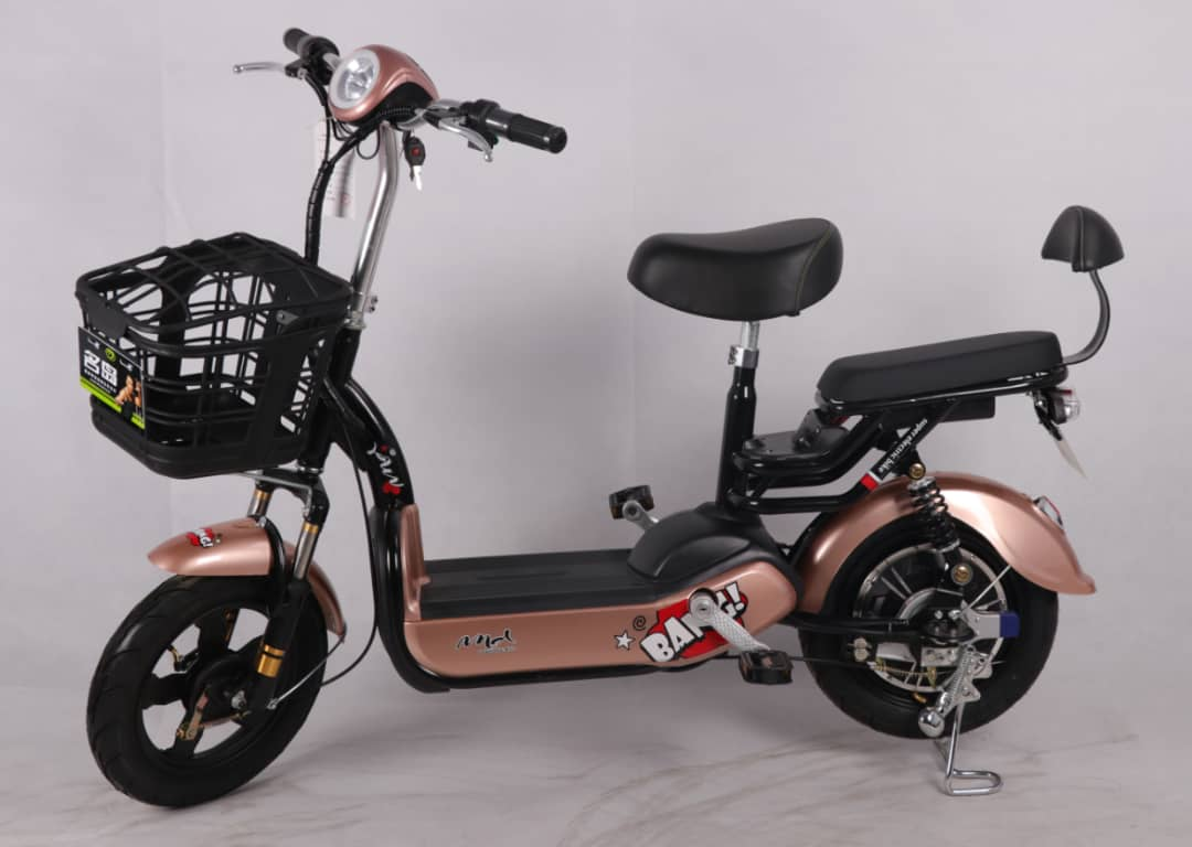 TATA Kitty จักรยานไฟฟ้า 350 วัตต์ 30 กม./ชม. คันสั้นกำลังดี แบตลิเที่ยมเบา