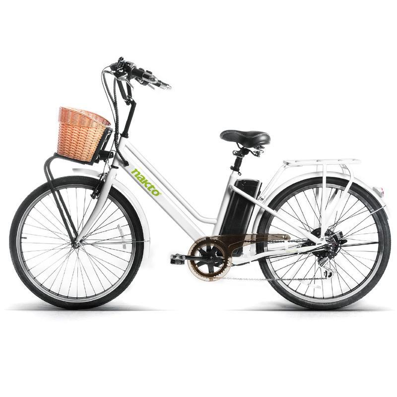 TOTO จักรยานไฟฟ้า ล้อ 26 นิ้ว คันใหญ่ แบตลิเที่ยมไอออนเบา 3 กก. 27 กม./ชม. 30 กม./ชาร์จ