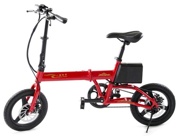 YOYO-จักรยานไฟฟ้าพับได้-350-วัตต์-แบตลิเที่ยมถอดชาร์จได้-25-30 กม./ชม. 40 กม./ชาร์จ