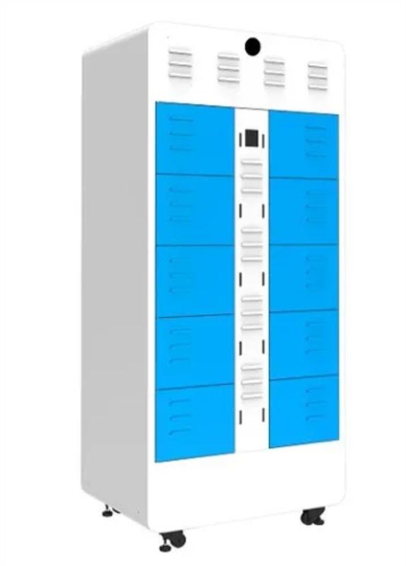 ตู้ Swap battery สลับแบตเตอรี่ มอเตอร์ไซค์ไฟฟ้า ไม่ต้องรอนาน มี 8 ช่อง