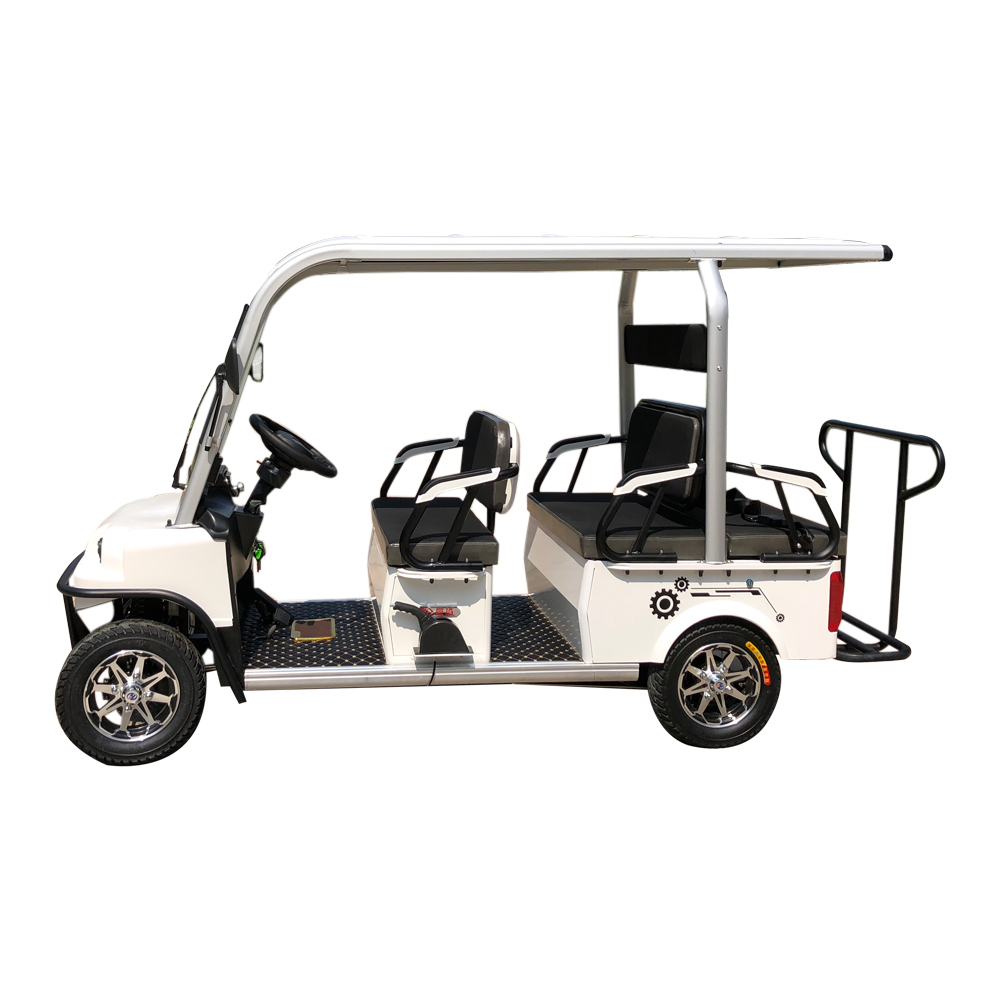 FEBO รถกอล์ฟไฟฟ้า 4 ล้อ 800 วัตต์  6 ที่นั่ง 35-40 กม./ชม. 40 กม./ชาร์จ