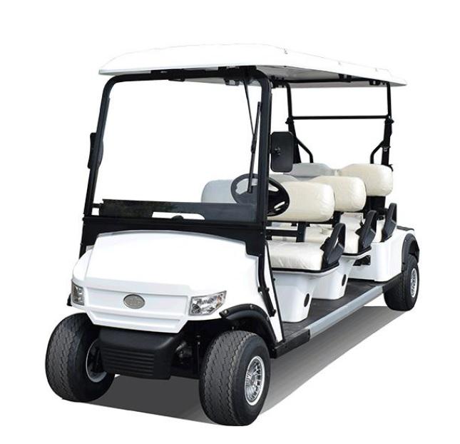 MOJI รถกอล์ฟไฟฟ้า 6 ที่นั่ง 30 กม./ชม. 80 กม./ชาร์จ