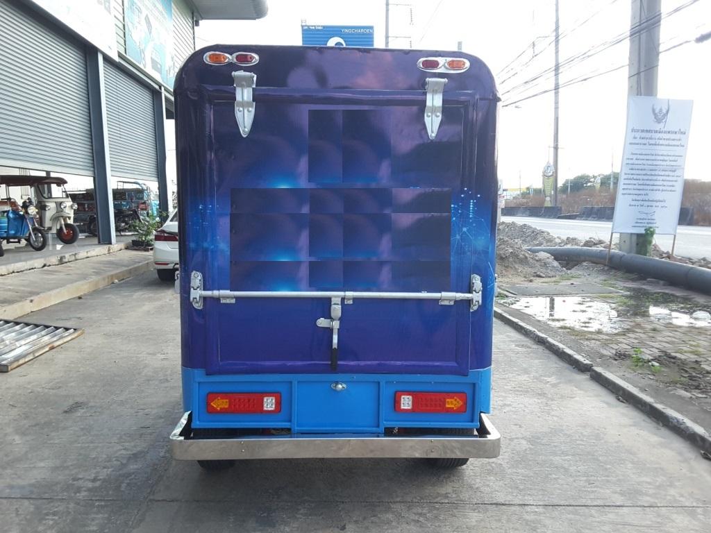 TUK TUK Thai King รถตุ๊กๆ ไฟฟ้า ขนส่ง 4,000 วัตต์ 60 กม./ชม. 100 กม./ชาร์จ จดทะเบียนได้