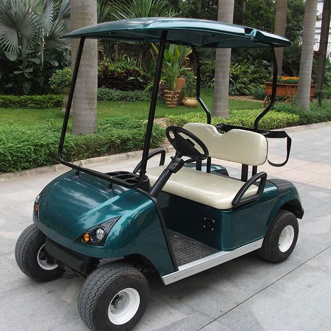 MOJI รถกอล์ฟไฟฟ้า 2 ที่นั่ง ใช้ในสนามกอล์ฟ 30 กม./ชม. 70-80 กม./ชาร์จ