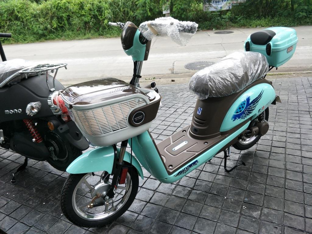 HONDA จักรยานไฟฟ้า ฮอนด้า ญี่ปุ่น รุ่น A8 250 วัตต์ 25 กม./ชม. 40 กม./ชาร์จ ホンダモーターサイクル本物