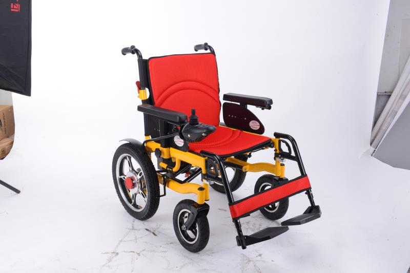 JIBJOY รถคนป่วย คนพิการ วีแชร์ไฟฟ้า 500 วัตต์ 6 กม./ชม. 20 กม./ชาร์จ
