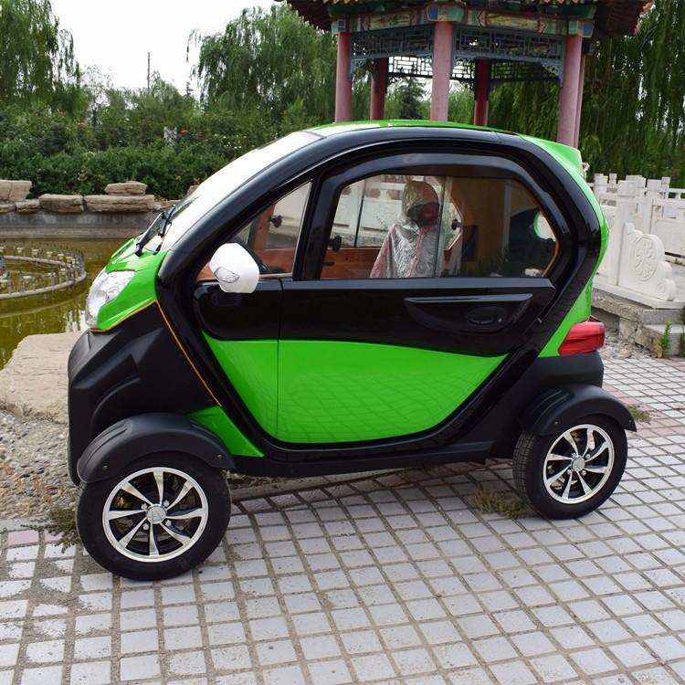 CAP รถยนต์ไฟฟ้า 4 ล้อ 1,200 วัตต์ ความเร็วสูงสุด 40 กม./ชม. 80-100 กม./ชาร์จ