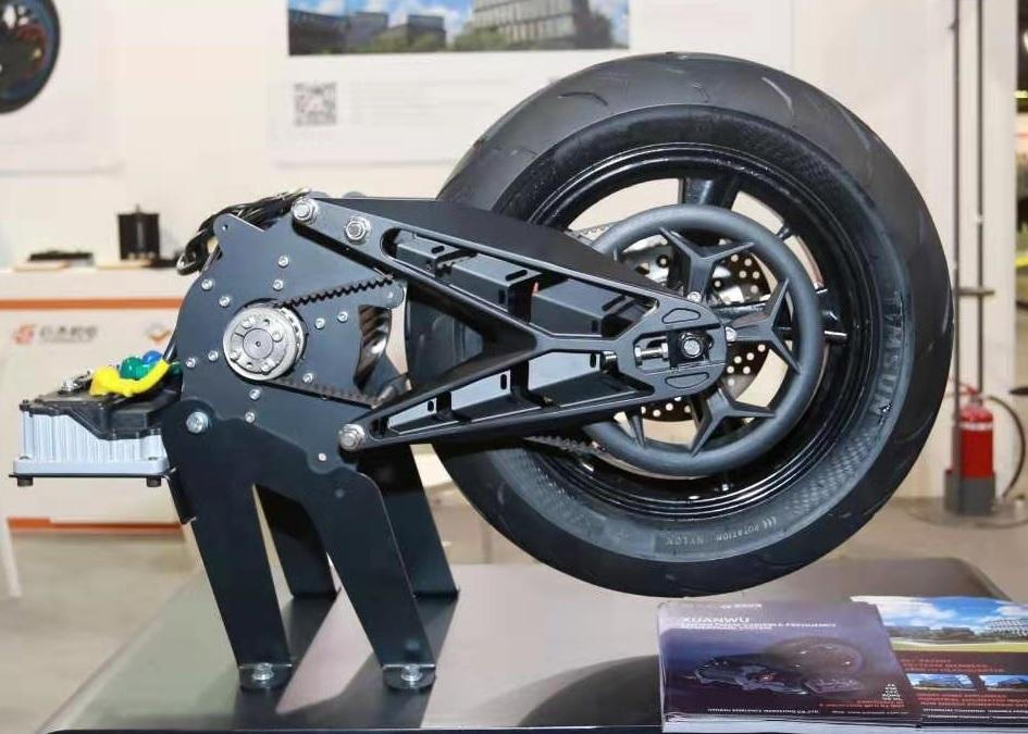 มอเตอร์ Mid-Drive มอเตอร์ไซค์ไฟฟ้า 4,000 วัตต์ 100 กม./ชม.