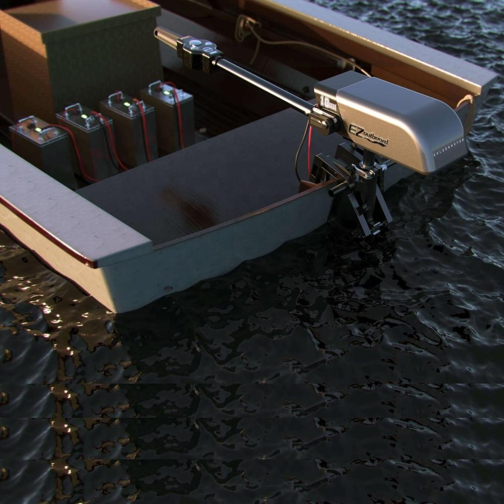 EZBOARD ชุดมอเตอร์ เรือเล็กไฟฟ้า 3-10 แรงม้า 10-20 กม./ชม. 20-50 กม./ชาร์จ