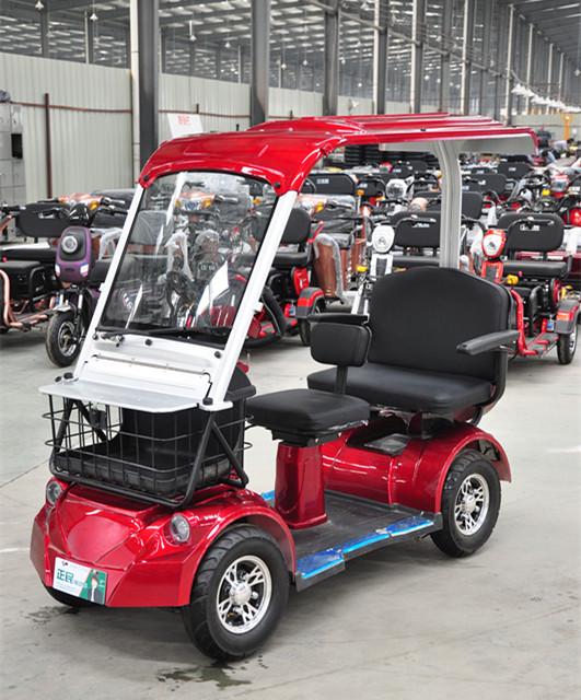 POODANG สกู๊ตเตอร์ รถกอล์ฟน้อย 4 ล้อ 3 ที่นั่ง 500 วัตต์ 30 กม./ชม. 30 กม./ชาร์จ