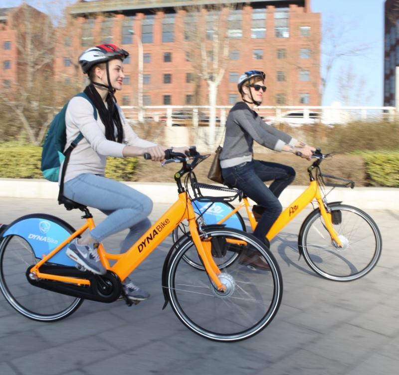 DYNABIKE จักรยานไฟฟ้า คันใหญ่ ล้อ 26 นิ้ว ความเร็วสูงสุด: 25 กม./ชม.