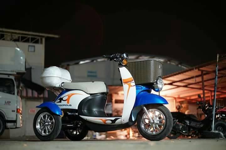 HONY สามล้อไฟฟ้า 500 วัตต์ วิ่งเร็ว 35 กม./ชม. ปลอดภัย ไม่ล้ม ซ้อน 2 ได้