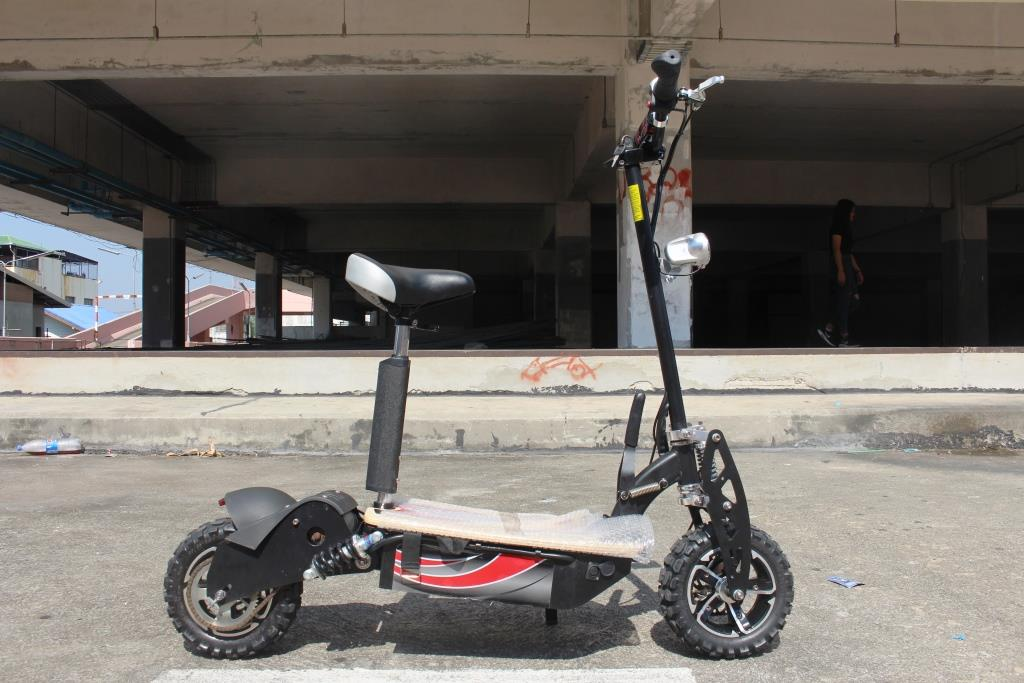 JIGGO-XX สกู๊ตเตอร์ไฟฟ้า 2 ล้อ นั่ง-ยืน 2,000 วัตต์ 50 กม./ชม 40 กม./ชาร์จ แรงเร็วสุด