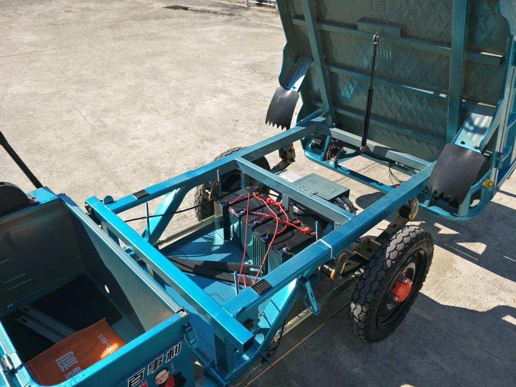 TANO สามล้อ กระบะ บรรทุก ไฟฟ้า 800 วัตต์ 30-40 กม./ชม. 40 กม./ชาร์จ บรรทุกได้ 400 กก.
