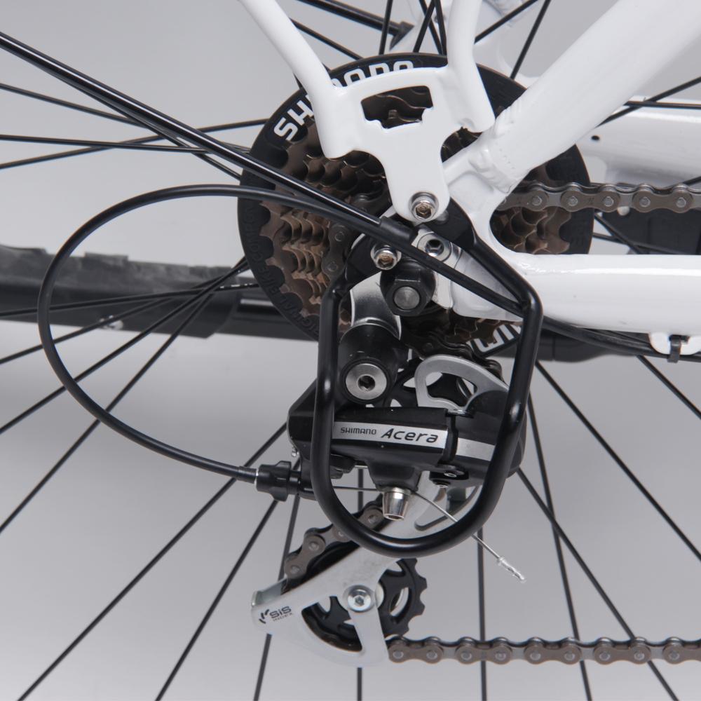TOTO-X จักรยานไฟฟ้า แม่บ้าน ทรงวินเทจ ล้อ 26 นิ้ว แบตลิเที่ยมถอดออกชาร์จได้ มอเตอร์ MID-DRIVE 250 วัตต์ 25 กม./ชม. 20 กม./ชาร์จ