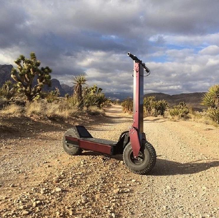 ZEETA-X สกู๊ตเตอร์ไฟฟ้า 5,000 วัตต์ ล้อใหญ่ วิ่งเร็ว-แรง 70 กม./ชม. 50 กม./ชาร์จ