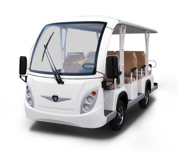 MOJI รถกอล์ฟไฟฟ้า 11 ที่นั่ง 30 กม./ชม. 70-80 กม./ชาร์จ
