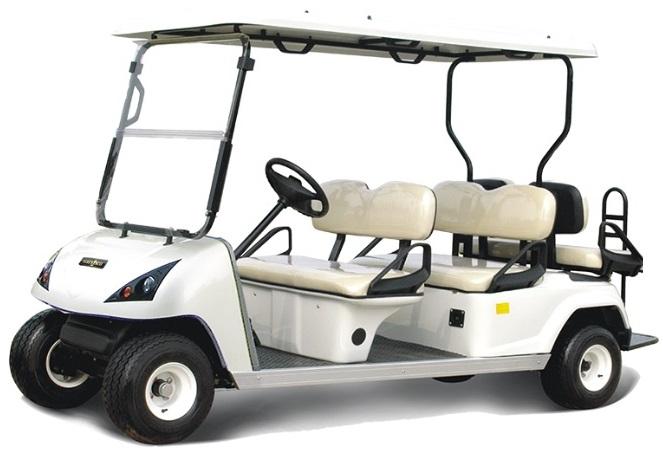 MOJI-X รถกอล์ฟไฟฟ้า 6 ที่นั่ง (4 นั่ง หน้า 2 หลังเสริม) 30 กม./ชม. 80 กม./ชาร์จ