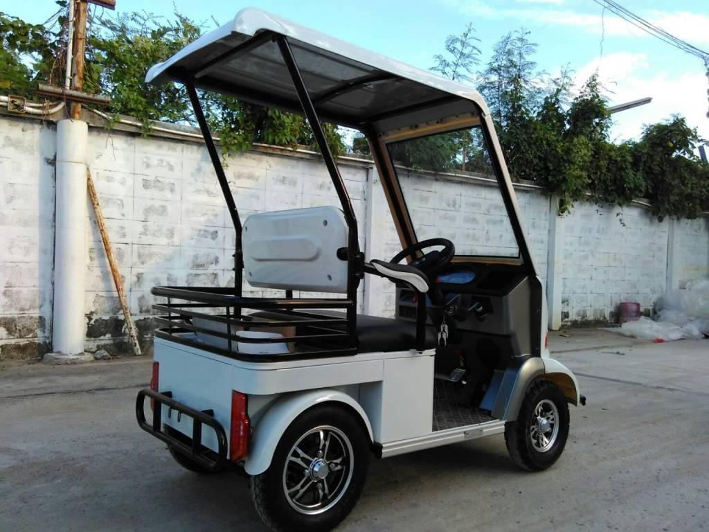 POOMAA สกู๊ตเตอร์ รถกอล์ฟไฟฟ้า 4 ล้อ 2 ที่นั่ง 800 วัตต์ 30 กม./ชม. 30-40 กม./ชาร์จ