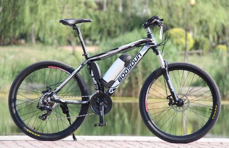 TIGER จักรยานไฟฟ้า เสือภูเขา ล้อ 26 นิ้ว แบตลิเที่ยมถอดออกชาร์จได้ 250 วัตต์ 25 กม./ชม. 20 กม./ชาร์จ