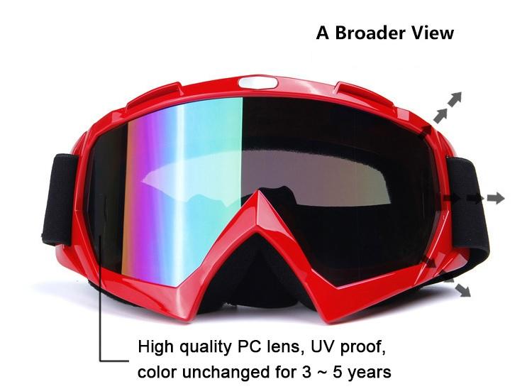 PROBIKE แว่นตา กันลมฝุ่น มอเตอร์ไซค์วิบาก