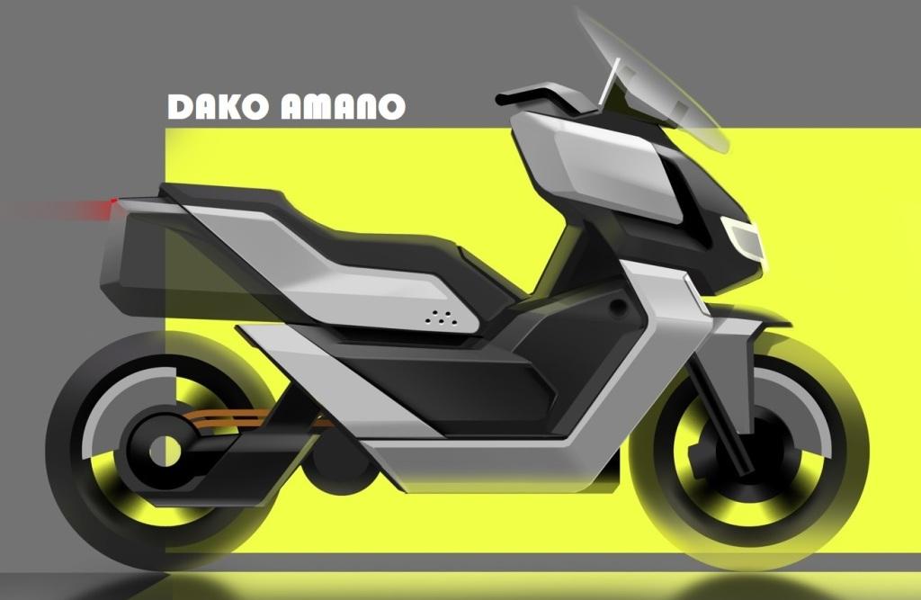 AMANO Concept มอเตอร์ไซค์ไฟฟ้า 4,000 วัตต์ 140 กม./ชม. 150-200 กม./ชาร์จ ชาร์จเร็ว