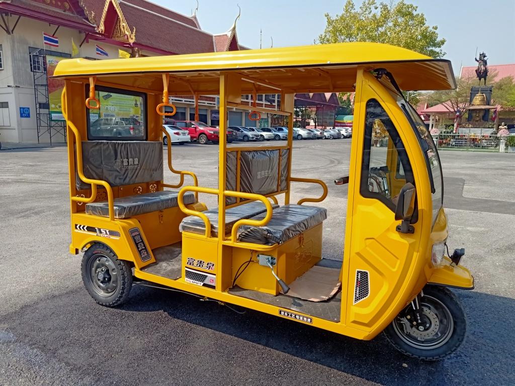 TUKTUK รถตุ๊กๆ ไฟฟ้า 800 วัตต์ 5 ที่นั่ง 35กม./ชม.50 กม./ชาร์จ