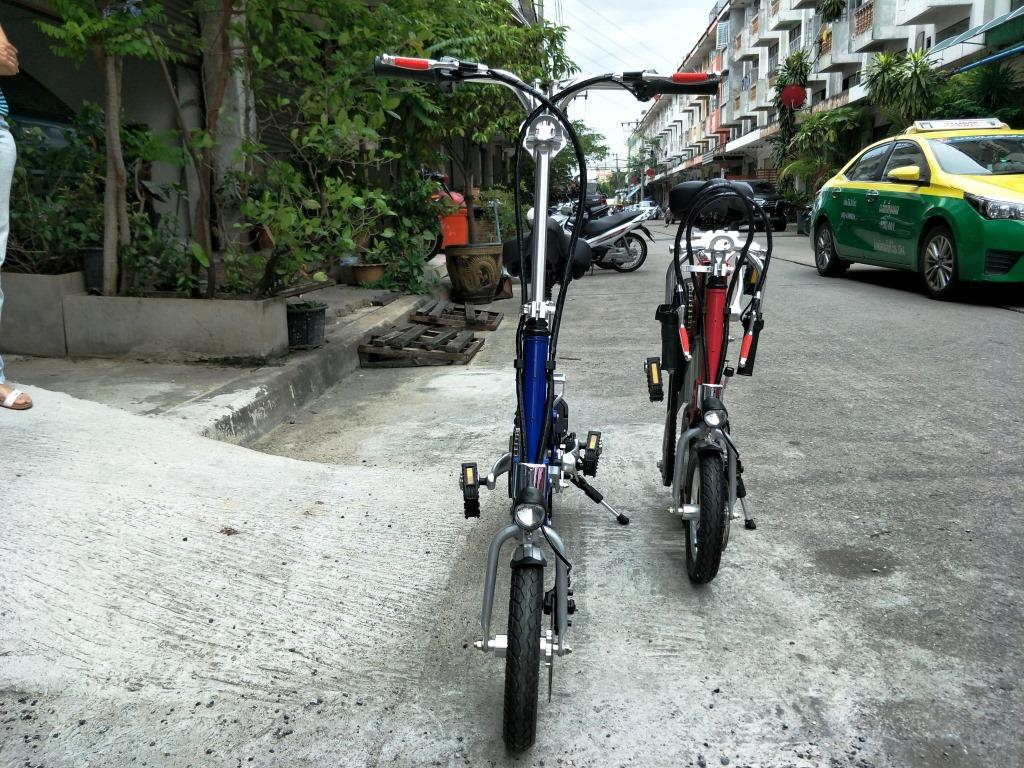 ROBO จักรยานไฟฟ้าพับได้ เบาเล็ก เพียง 20 กก. 250 วัตต์ 30 กม./ชม. แบตลิเที่ยมไอออน วิ่งไกล 40 กม.