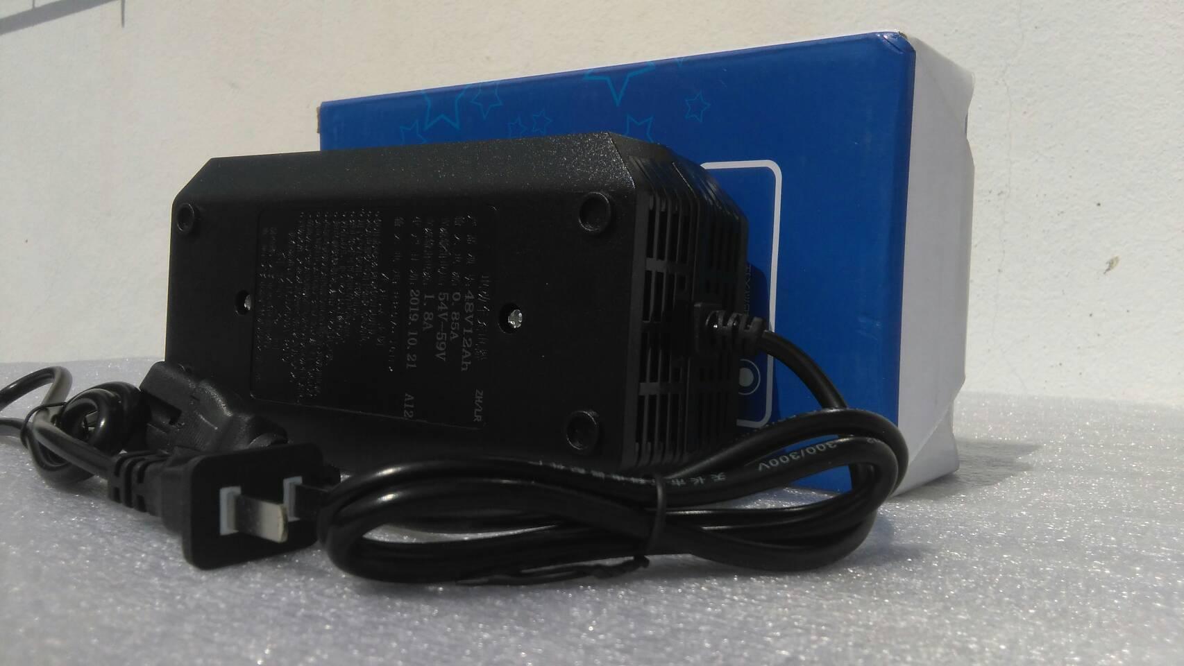 Adapter ที่ชาร์จ สกู๊ตเตอร์ไฟฟ้า 48V12Ah
